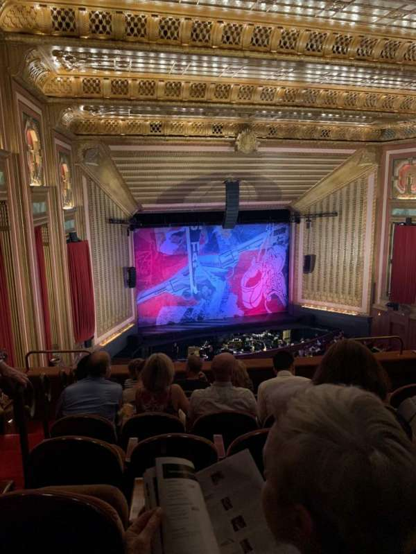 Lyric Opera House, section: DC, row: G, seat: 30