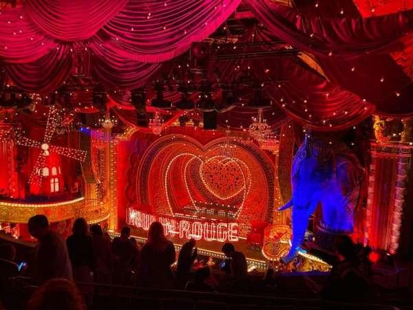 Al Hirschfeld Theatre, section: Mezzanine R, row: K, seat: 14