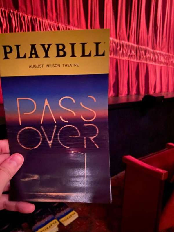 August Wilson Theatre, section: Orchestra L, row: BB, seat: 1