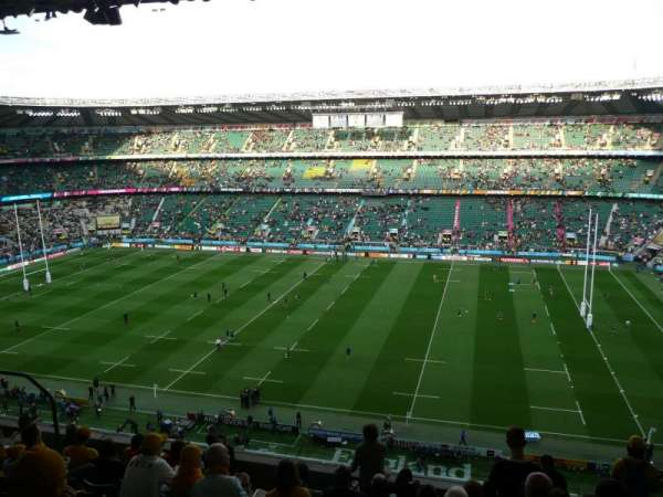 TWICKENHAM STADIUM, section: U4, row: K, seat: 102