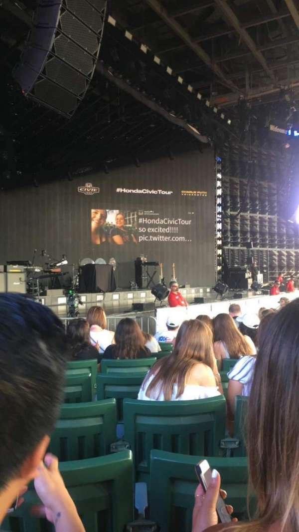 DTE Energy Music Theater, section: LT2, row: I, seat: 20