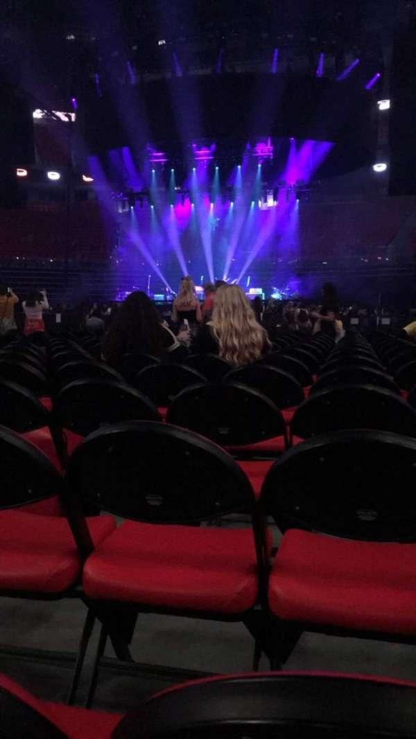Little Caesars Arena, section: Floor 4, row: 12, seat: 7