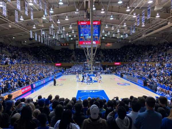 Cameron Indoor Stadium, section: 2, row: A, seat: 21