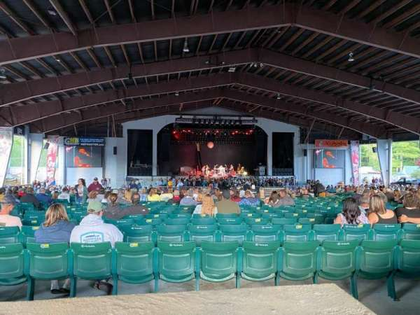 Bank of New Hampshire Pavilion, section: PRM-3B, row: C1, seat: 15