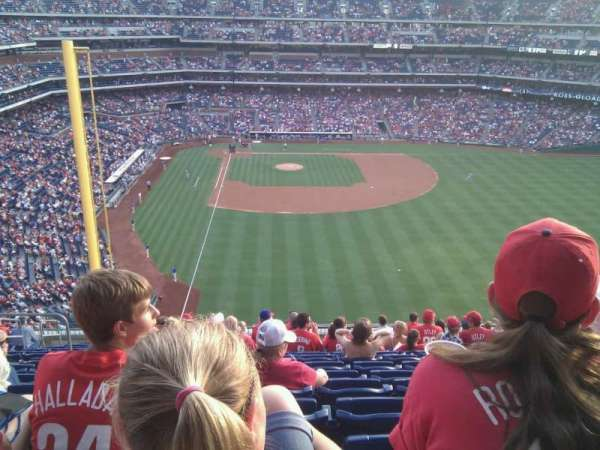 Citizens Bank Park, section: 304, row: 14, seat: 16