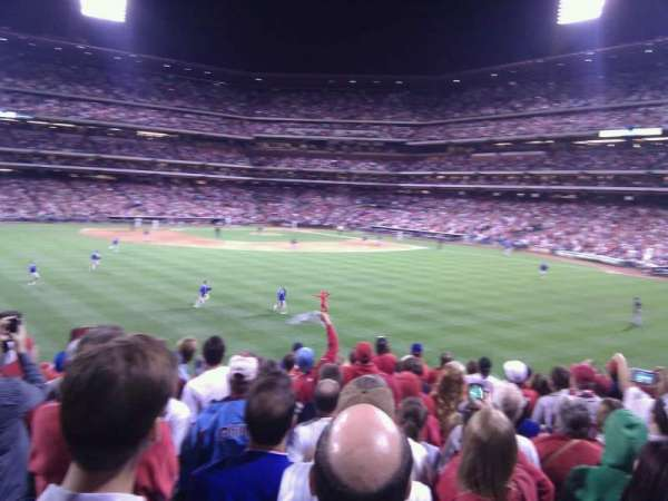 Citizens Bank Park, section: 147, row: 18, seat: 12