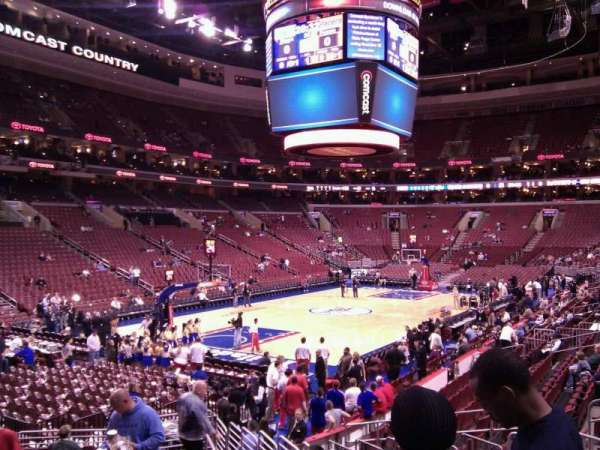 Wells Fargo Center, section: 121, row: 15, seat: 16