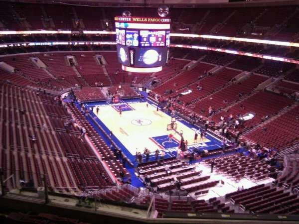 Wells Fargo Center, section: 217a, row: 7, seat: 4