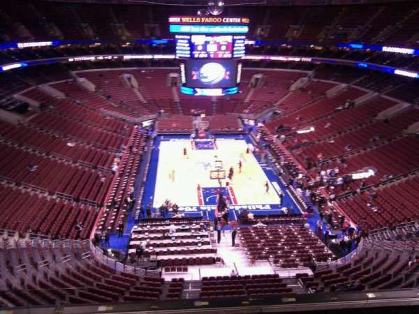 Wells Fargo Center, section: 219, row: 6, seat: 7