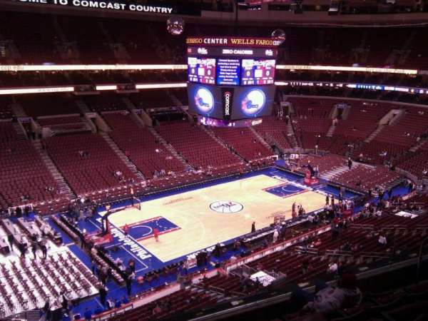 Wells Fargo Center, section: 222a, row: 6, seat: 3