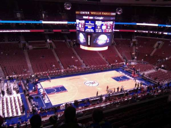 Wells Fargo Center, section: 223, row: 7, seat: 3