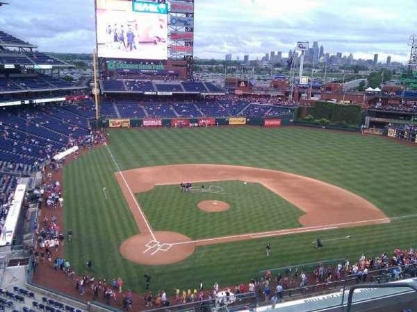 Citizens Bank Park, section: 318, row: 5, seat: 4