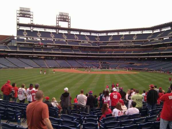 Citizens Bank Park, section: 146, row: 13, seat: 9