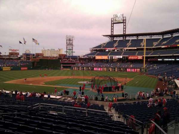Citizens Bank Park, section: 126, row: 32, seat: 5
