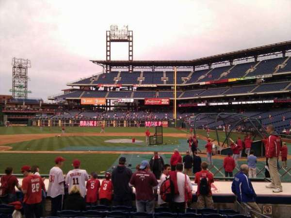 Citizens Bank Park, section: 129, row: 10, seat: 4