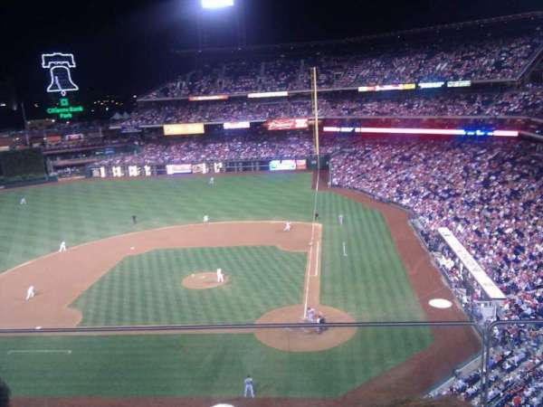 Citizens Bank Park, section: 324, row: 2, seat: 10