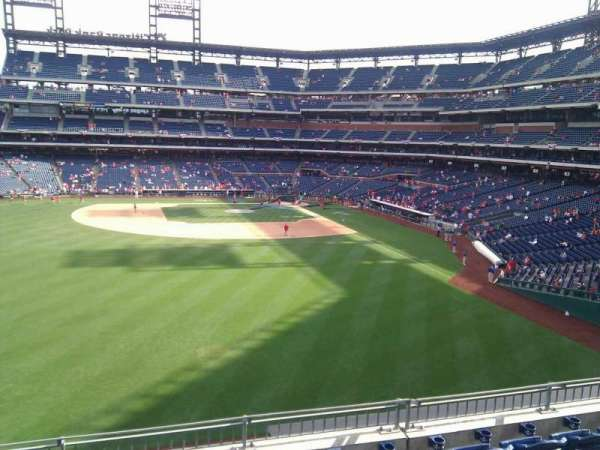 Citizens Bank Park, section: 243, row: 7, seat: 14