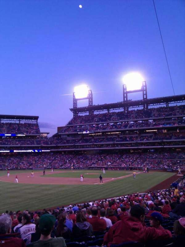 Citizens Bank Park, section: 137, row: 27, seat: 17