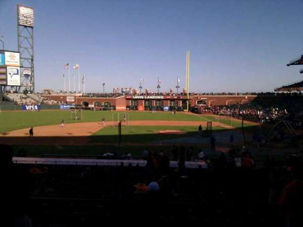 AT&T Park, section: 122, row: 29, seat: 14