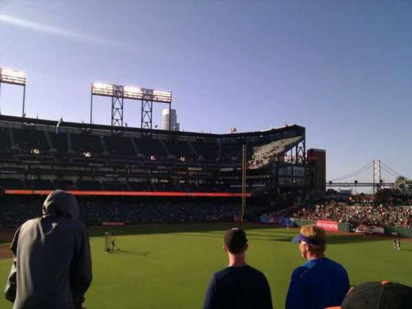 Oracle Park, section: 148, row: 2