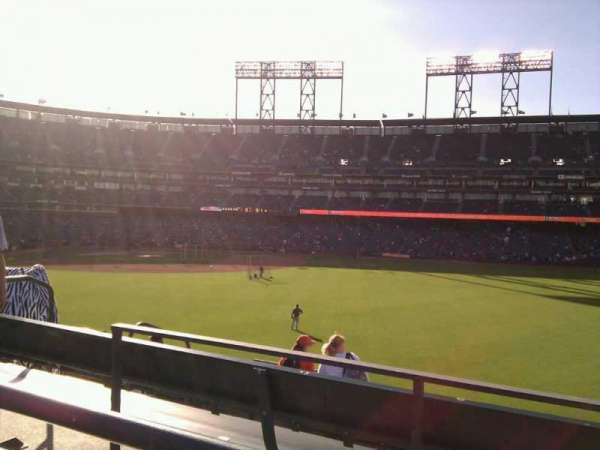 AT&T Park, section: 105, row: 3