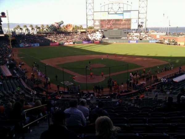 Oracle Park, section: 214, row: i, seat: 13