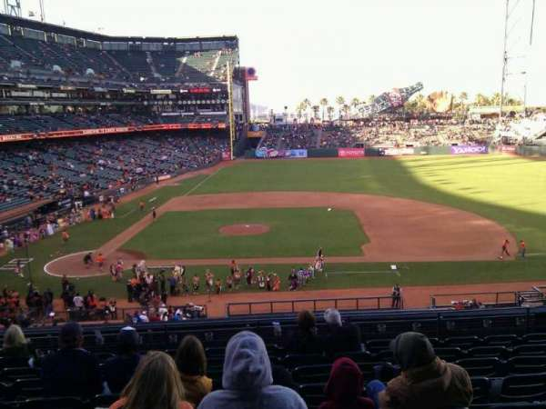Oracle Park, section: 209, row: i, seat: 10