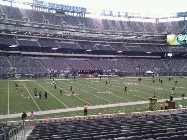 MetLife Stadium, section: 116, row: 22, seat: 17