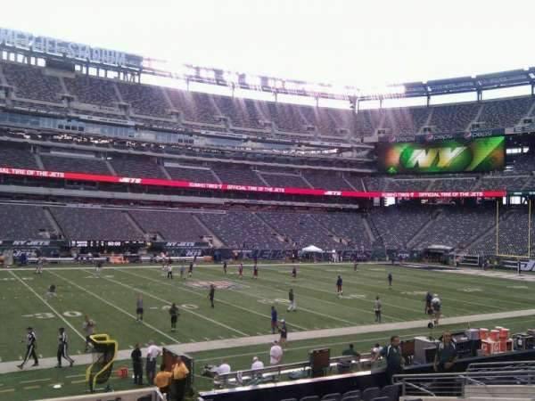 MetLife Stadium, section: 115a, row: 16, seat: 12
