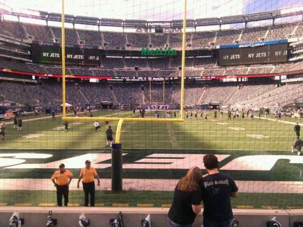 MetLife Stadium, section: 126, row: 6, seat: 7