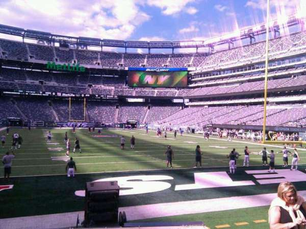 MetLife Stadium, section: 128, row: 7, seat: 15