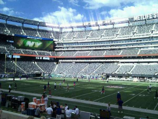 MetLife Stadium, section: 137, row: 11, seat: 11