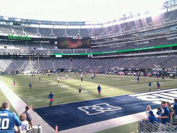 MetLife Stadium, section: 104, row: 11, seat: 17