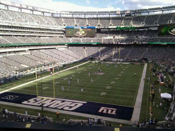 MetLife Stadium, section: 248, row: 6, seat: 15