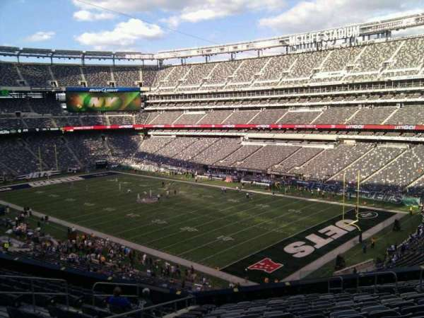 MetLife Stadium, section: 232a, row: 15, seat: 10