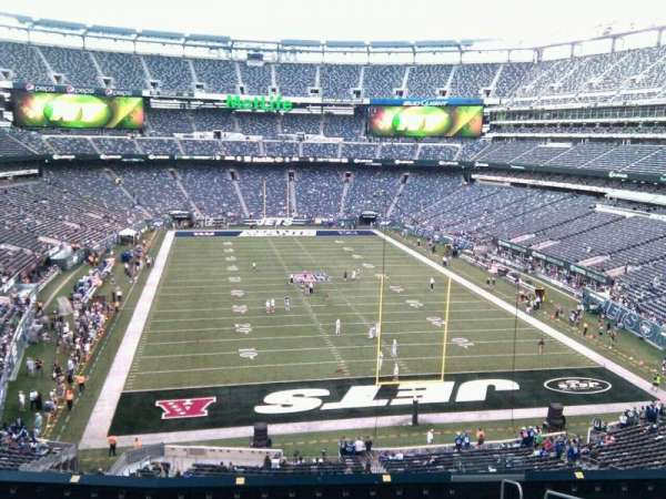 MetLife Stadium, section: 228a, row: 12, seat: 6