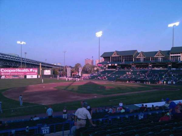 Campbell's Field, section: 218, row: w, seat: 3