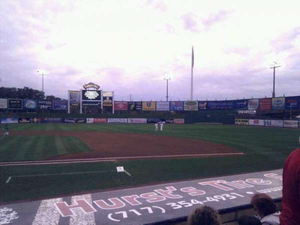 Clipper Magazine Stadium, section: 8, row: f, seat: 5