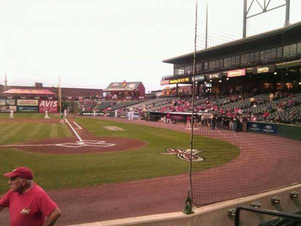 Clipper Magazine Stadium, section: 18, row: e, seat: 5