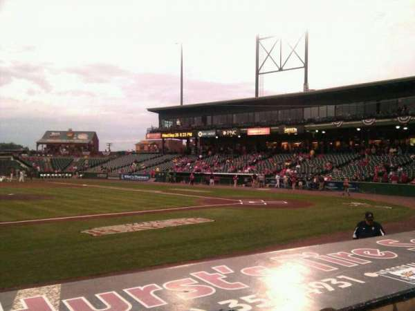 Clipper Magazine Stadium, section: 21, row: e, seat: 5