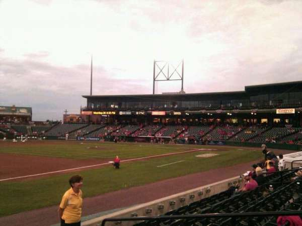Clipper Magazine Stadium, section: 25, row: e, seat: 5