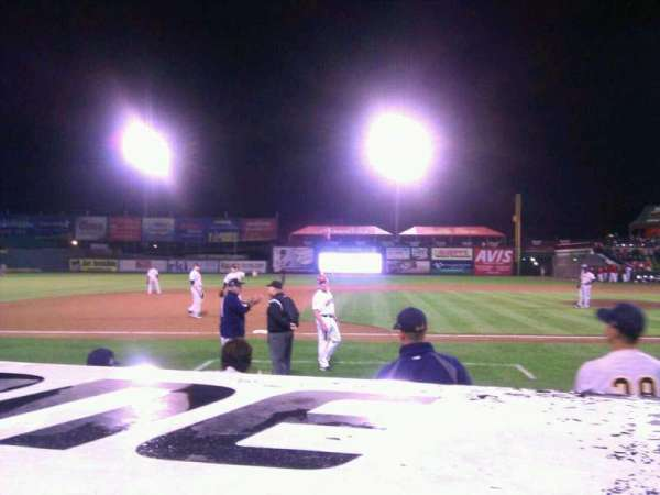 Clipper Magazine Stadium, section: 21, row: c, seat: 7