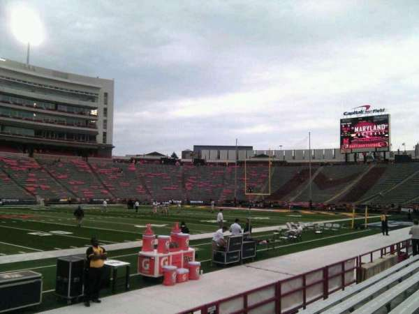 Maryland Stadium, section: 4, row: f, seat: 22