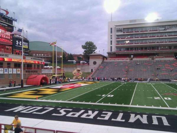 Maryland Stadium, section: 3, row: n, seat: 17