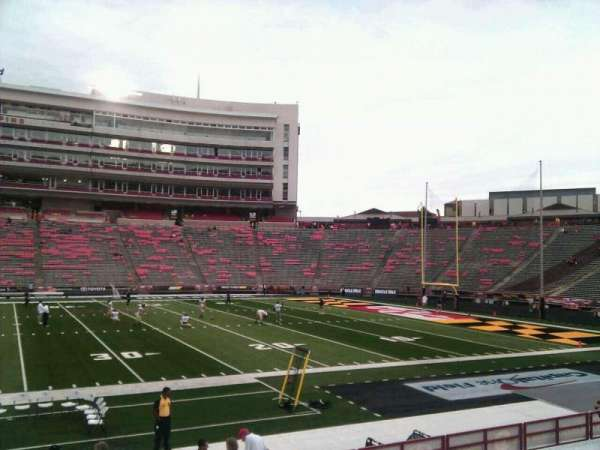 Maryland Stadium, section: 6, row: q, seat: 22