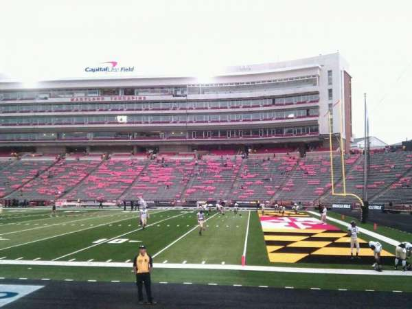 Maryland Stadium, section: 9, row: h, seat: 12