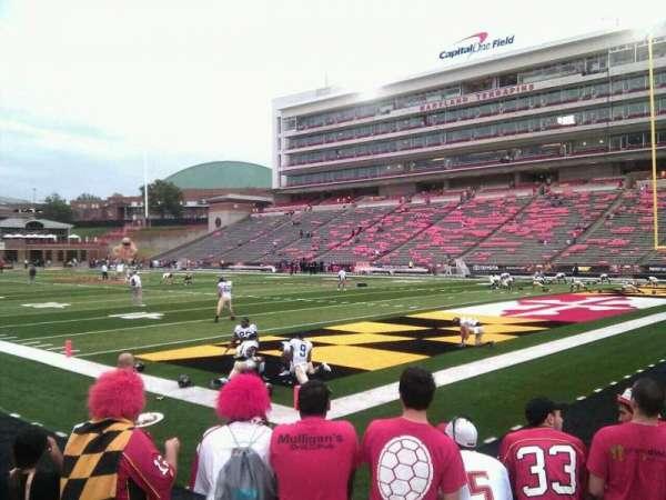 Maryland Stadium, section: 11, row: f, seat: 13