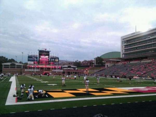 Maryland Stadium, section: 12, row: e, seat: 15