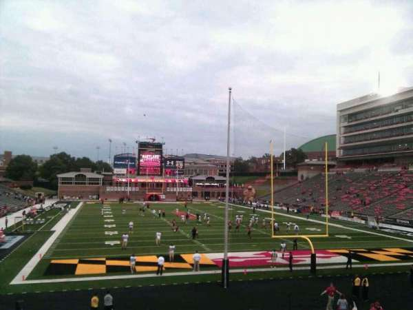 Maryland Stadium, section: 14, row: cc, seat: 1
