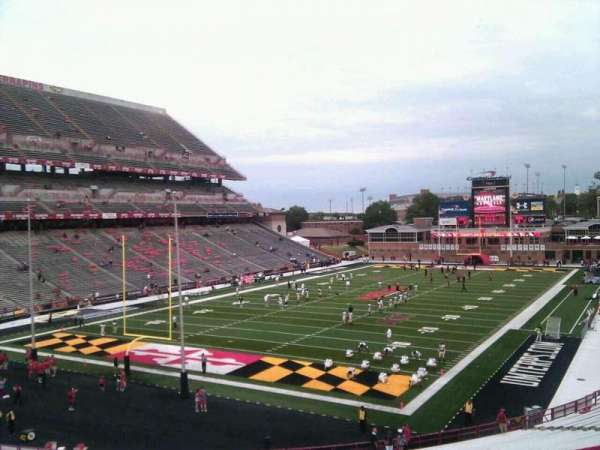 Maryland Stadium, section: 17, row: uu, seat: 8